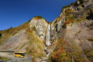 落差86メートルもあるふくべの大滝