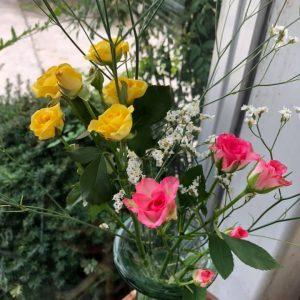 ★お花を変えました★